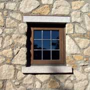 Window and stone detail